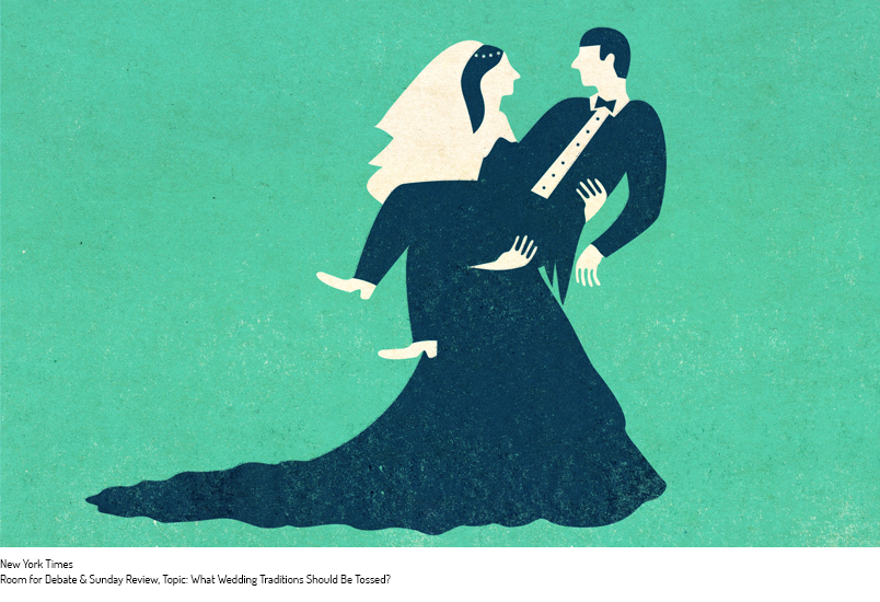 What Wedding Traditions Should Be Tossed?